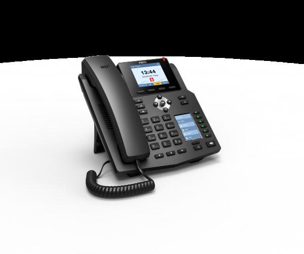Fanvil X4 reverse side of IP Phone